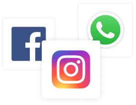 immagini social instagram facebook e whatsapp per condivisione della vetirna 1