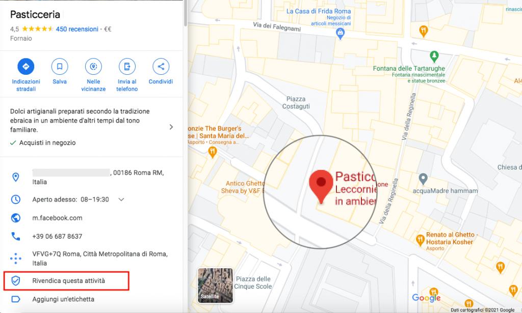 inserire azienda su google maps