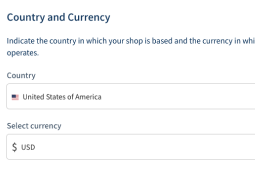 country currency